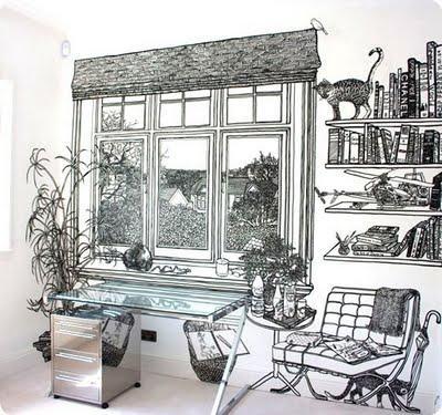 Sharpie + Wall = Astonishing Murals With Regard To Sharpie Wall Art (Image 15 of 20)