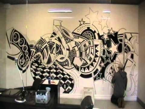 Sharpie Wall Jessie Armand – Youtube Throughout Sharpie Wall Art (Image 19 of 20)