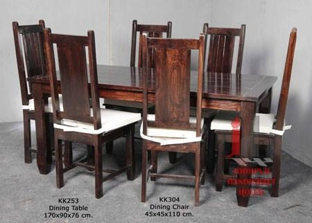 Sheesham Wood Dining Set, Sheesham Wood Dining Set Suppliers And Regarding Most Current Sheesham Wood Dining Chairs (Image 15 of 20)