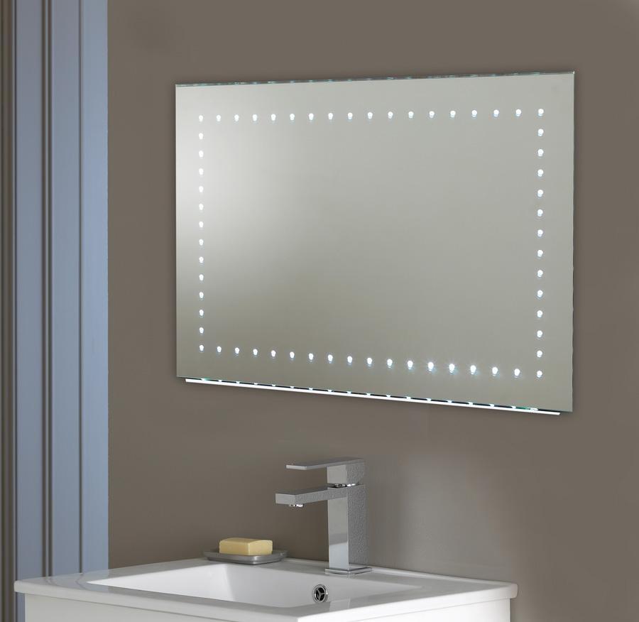 Shining Ideas Large Led Bathroom Mirrors Mirror 3 Design Designs Within Led Illuminated Bathroom Mirrors (Image 20 of 20)