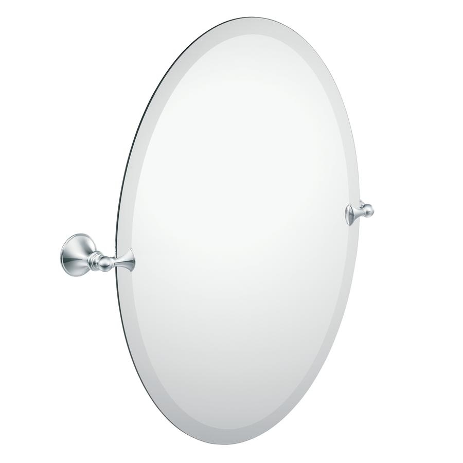 Shop Bathroom Mirrors At Lowes Intended For Oval Bath Mirrors (View 9 of 20)