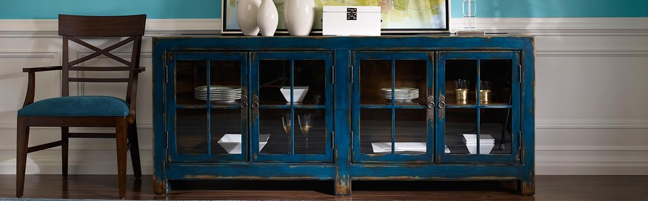 Shop Dining Room Storage & Display Cabinets | Ethan Allen Regarding Most Current Dining Room Cabinets (Image 17 of 20)