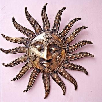 Shop Large Art Wall Sculptures On Wanelo With Regard To Large Metal Sun Wall Art (Image 6 of 20)
