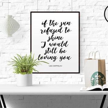 Shop Led Zeppelin Lyrics On Wanelo With Led Zeppelin Wall Art (Image 12 of 20)