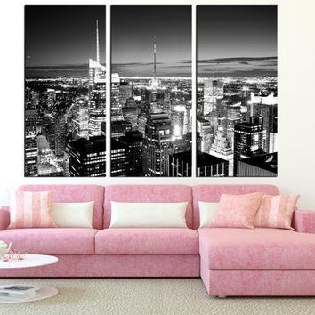 Shop New York Skyline Art On Wanelo For New York Skyline Canvas Black And White Wall Art (Image 14 of 20)
