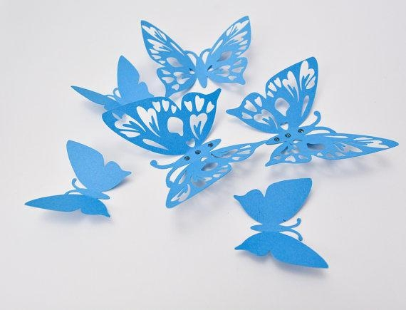 Shop Paper Butterfly Wall Art On Wanelo In 3D Butterfly Framed Wall Art (Image 15 of 20)