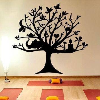 Shop Tree Of Life Wall Decal On Wanelo Regarding Tree Of Life Wall Art Stickers (View 6 of 20)
