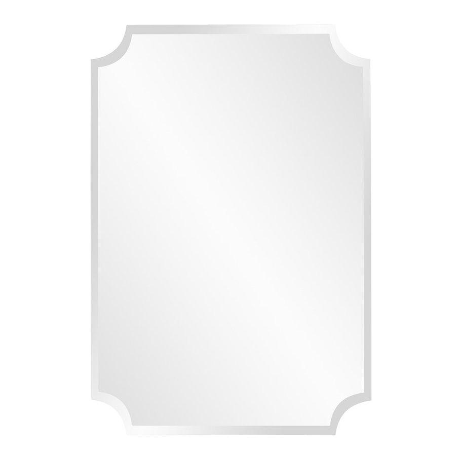 Shop Tyler Dillon Mirrored Beveled Frameless Wall Mirror At Lowes With Regard To Frameless Beveled Bathroom Mirrors (Image 18 of 20)