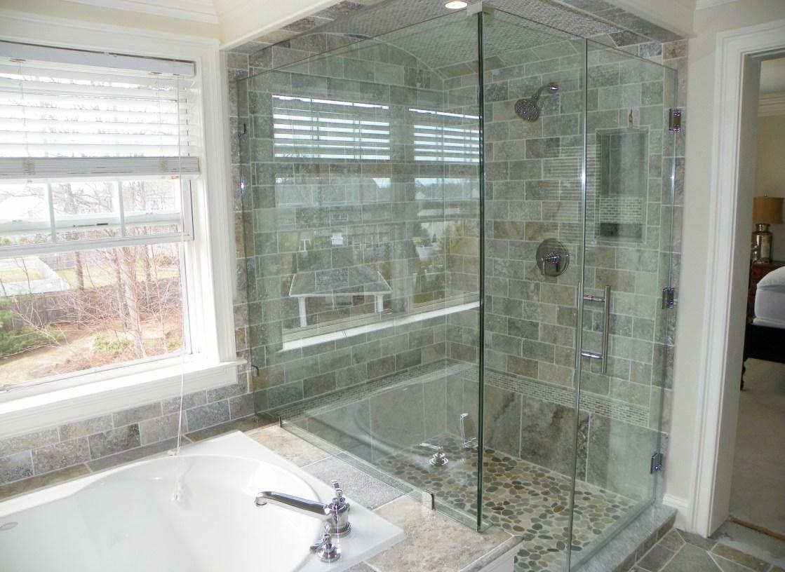 Shower : Enjoyable Glass Shower Doors Greensboro Nc Ravishing Throughout Orlando Custom Mirrors (Image 20 of 20)