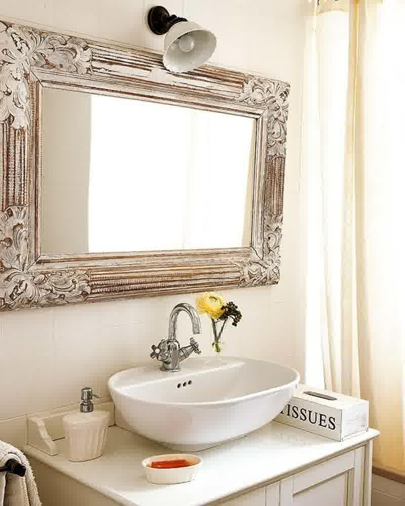 Showy Step How To Frame A Bathroom Mirror Diy To Outstanding For Decorative Mirrors For Bathroom Vanity (View 7 of 20)