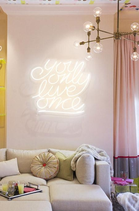 Signage As Wall Art | Jenny Madden Design With Regard To Neon Light Wall Art (View 20 of 20)