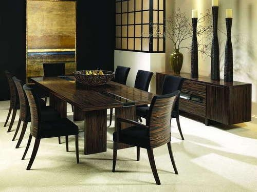 Simple Design 8 Seat Dining Table Homey Dining Table And Chairs In Current 8 Seat Dining Tables (Image 18 of 20)