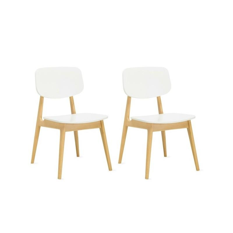 Simple White Wood Dining Chairs On Small Home Remodel Ideas With With Most Recently Released Perth White Dining Chairs (Image 19 of 20)