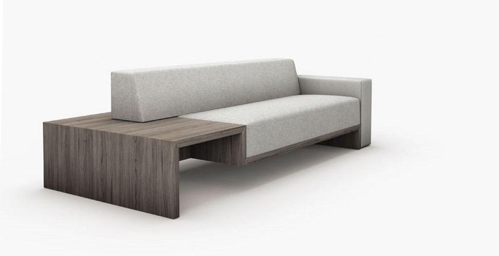 Simple Wooden Sofa Design With Modern Style – Plushemisphere Throughout Simple Sofas (View 5 of 20)