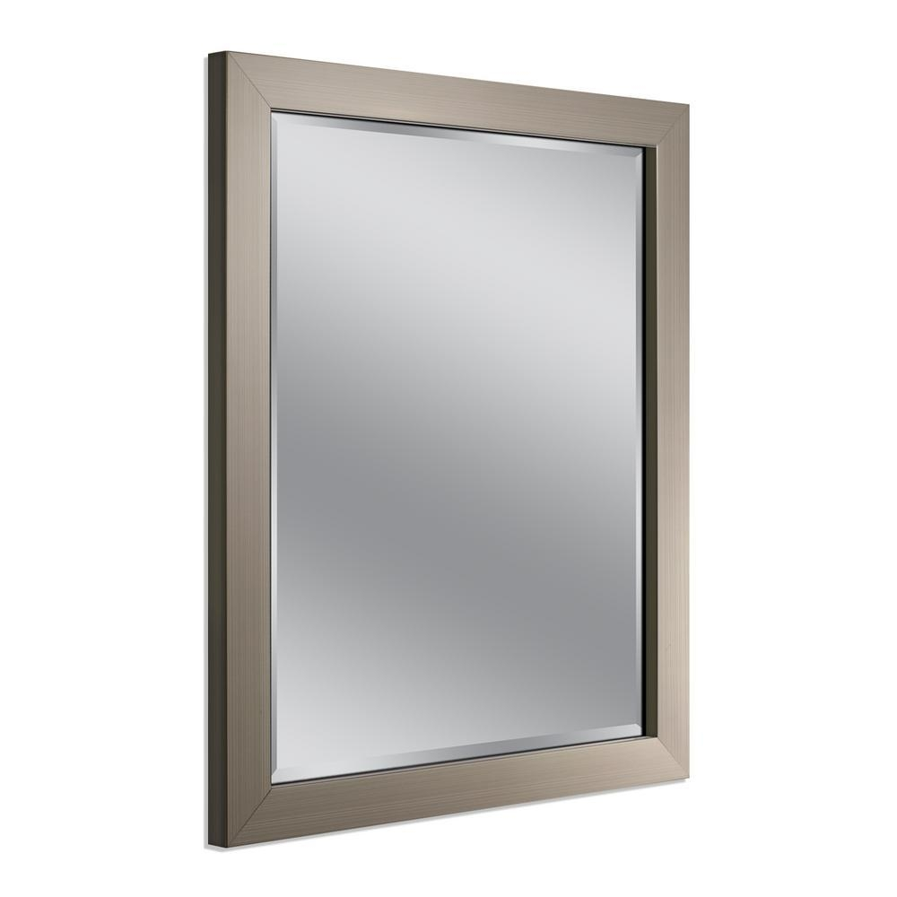 Simpli Home Paige 24 In X 34 In Bath Vanity Mirror In Soft White Inside Bathroom Vanities Mirrors (Image 19 of 20)