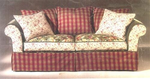 "Slipcovers For Rowe 6750 96"" Sofa With Regard To Rowe Slipcovers (Image 17 of 20)"