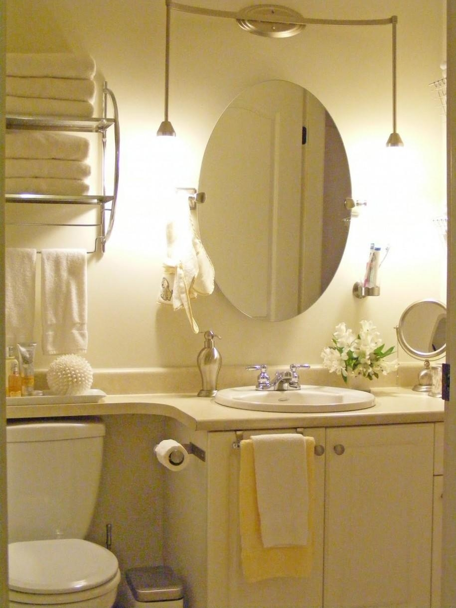 Small Bathroom Mirrors – Dansupport Within Oval Bath Mirrors (View 10 of 20)