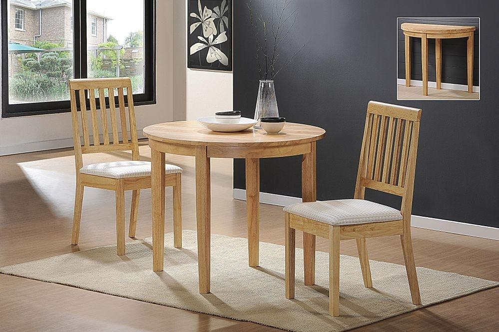 Small Dining Chairs For Extra Small Living Areas | Dining Chairs Throughout Compact Dining Tables And Chairs (Image 16 of 20)