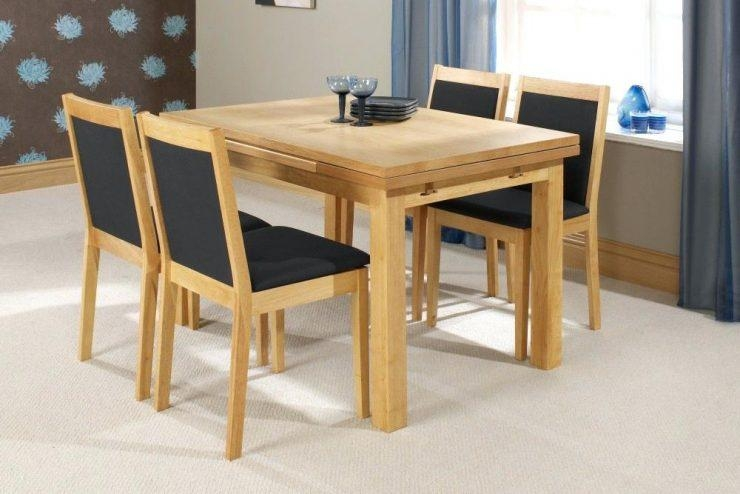 Small Extending Dining Table And 4 Chairs – Zagons (Image 13 of 20)