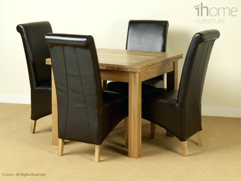Small Extending Dining Table And 4 Chairs – Zagons (View 2 of 20)