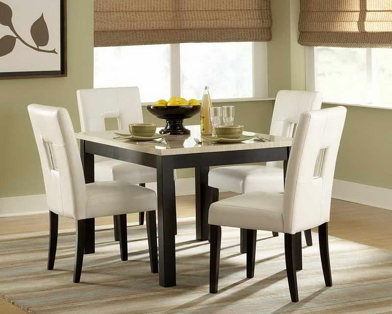 Small Kitchen Tables And Chairs | Roselawnlutheran Within Compact Dining Tables And Chairs (Image 18 of 20)