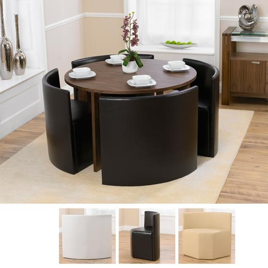 Small Round Dining Table For 4: Beautiful Pictures, Photos Of Pertaining To Recent Circular Dining Tables For  (Image 17 of 20)