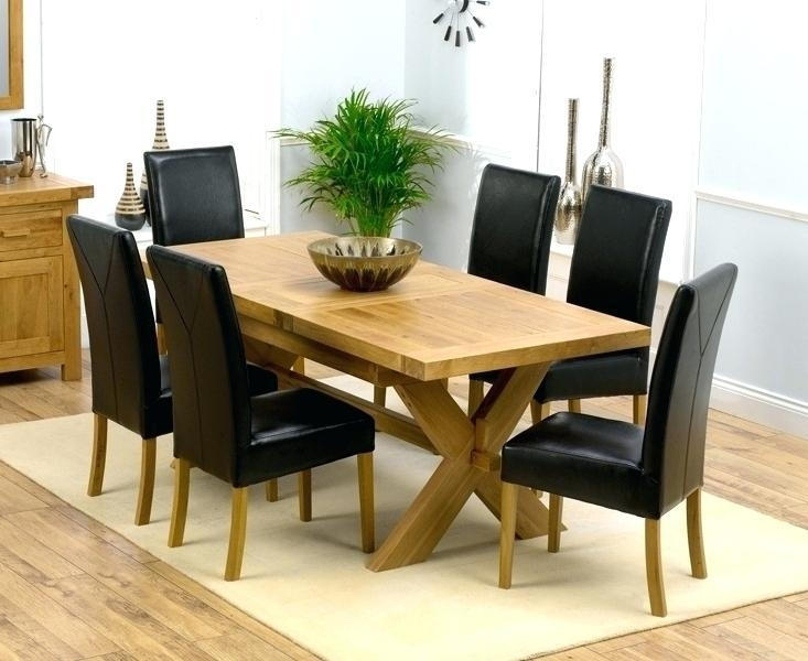 Small Round Oak Dining Table – Mitventures (Image 18 of 20)