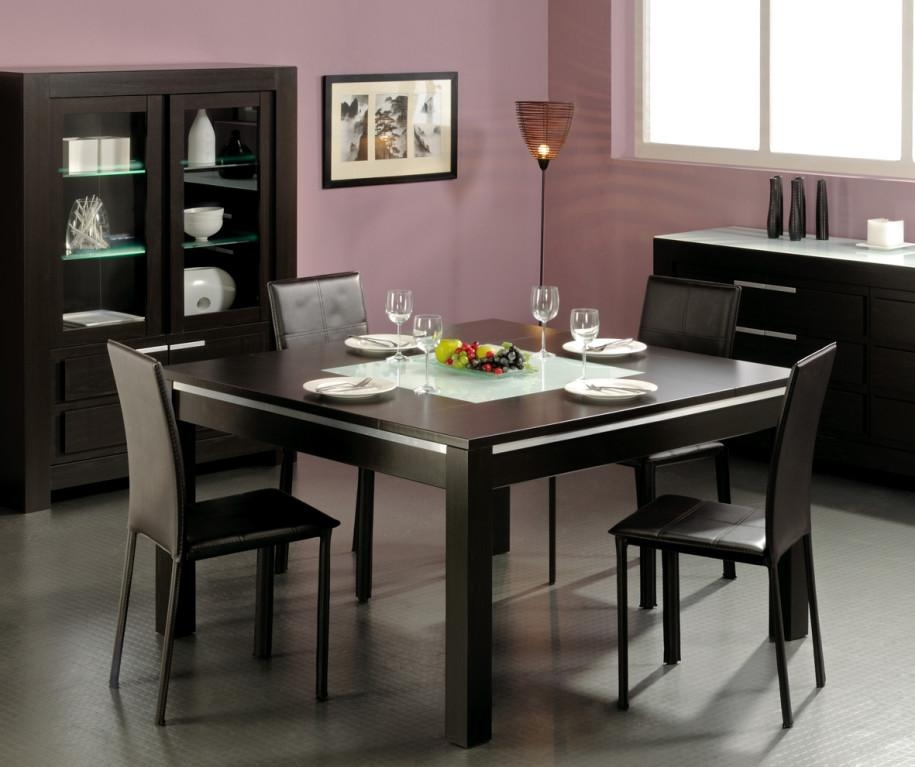 Small Square Dining Room Tables – Insurserviceonline For Recent Square Black Glass Dining Tables (Image 15 of 20)