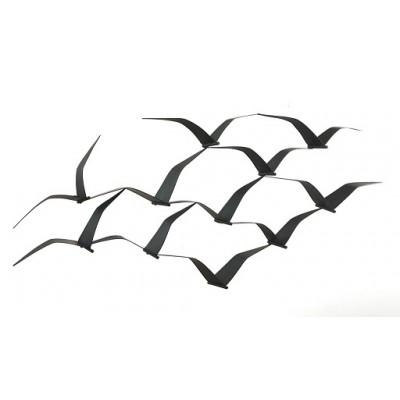 Soaring Seagulls – Metal Wall Art With Regard To Seagull Metal Wall Art (View 3 of 20)