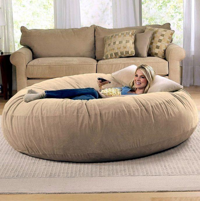 Sofa : Bean Bags For Kids Oversized Bean Bag Ikea Beanbag Beanbag Throughout Giant Bean Bag Chairs (View 20 of 20)