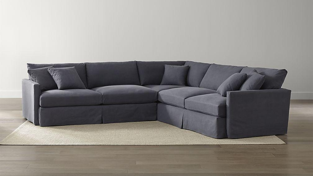 Sofa Beds Design Attractive Modern Slipcovered Sectional Sofas Within 3 Piece Sectional Sofa Slipcovers ( : slipcover sectional couch - Sectionals, Sofas & Couches