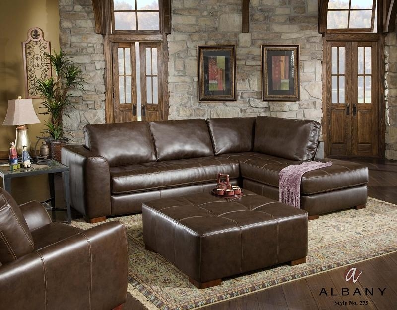 Sofa Beds Design: Remarkable Contemporary Traditional Sectional In Traditional Leather Sectional Sofas (Image 16 of 20)