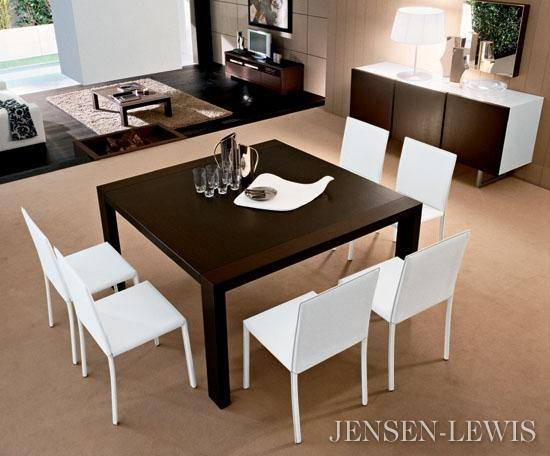Sofa : Cute Modern Square Dining Tables Inspiring Eight Seater For Most Popular Dining Tables For Eight (View 15 of 20)