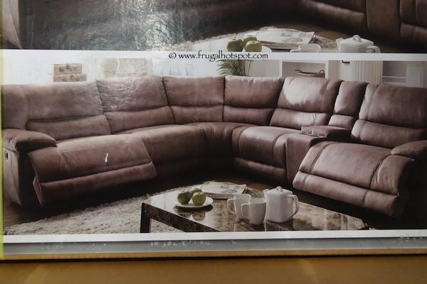 Sofa Design Ideas: Leather Sectionals Power Reclining Sofa Costco Pertaining To Costco Sectional Sofas (Image 18 of 20)