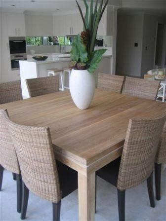 Sofa : Glamorous Modern Square Dining Tables Modern Pedestal Table In 2017 Dark Wood Square Dining Tables (View 18 of 20)