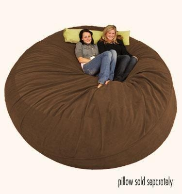 Sofa : Trendy Giant Bean Bag Chair With Regard To Giant Bean Bag Chairs (View 7 of 20)
