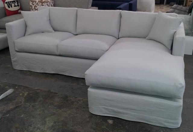Sofa With Chaise Cover | Centerfieldbar With Regard To 3 Piece Sectional Sofa Slipcovers (Image : slipcovers for 3 piece sectional sofas - Sectionals, Sofas & Couches