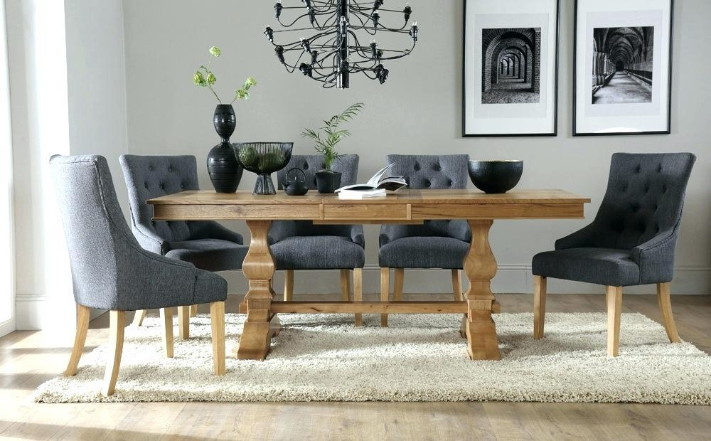 Solid Oak Dining Table And 8 Chairs Full Image For Dining Table With Regard To Most Popular Oak Dining Tables And 8 Chairs (Image 18 of 20)