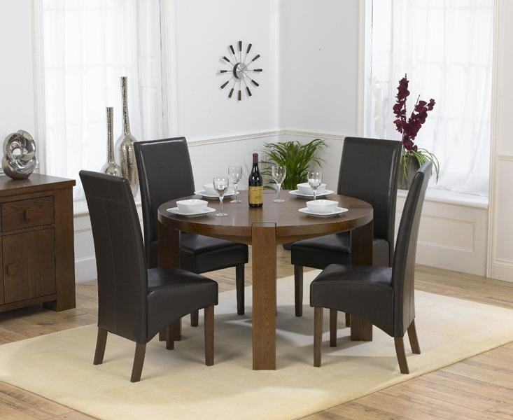 Solid Oak Round Dining Table | Best Dining Table Ideas Pertaining To Most Recently Released Oak Round Dining Tables And Chairs (Image 19 of 20)