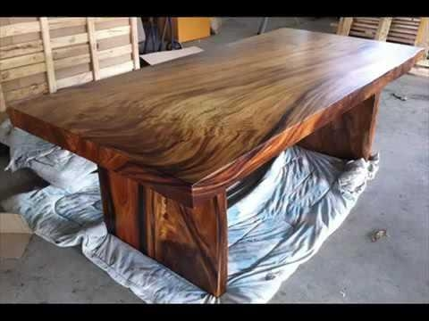 Solid Wood Dining Table And 6 Leather Chairs | Cafe Coffee Tables In 2017 Solid Wood Dining Tables (View 1 of 20)