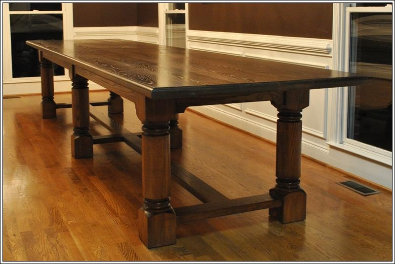 Solid Wood Dining Table – Online Meeting Rooms Inside Newest Solid Wood Dining Tables (Image 14 of 20)