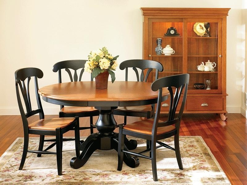 Sonoma Single Pedestal Dining Tablekeystone Intended For 2017 Pedestal Dining Tables And Chairs (Image 18 of 20)