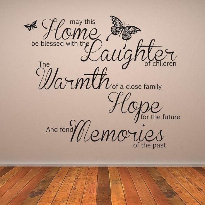 Spice Up Your Walls With Wall Art Quotes – Pickndecor Within Family Sayings Wall Art (Image 18 of 20)