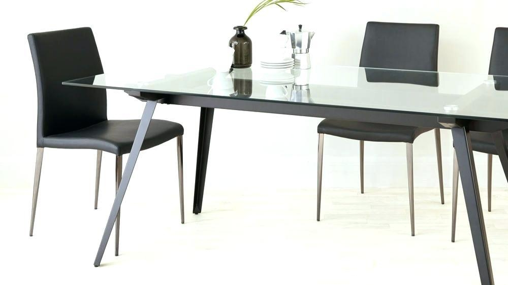 Square 8 Seater Dining Table Dimensions Square Dining Table Size With Most Popular Perth Glass Dining Tables (Image 14 of 20)