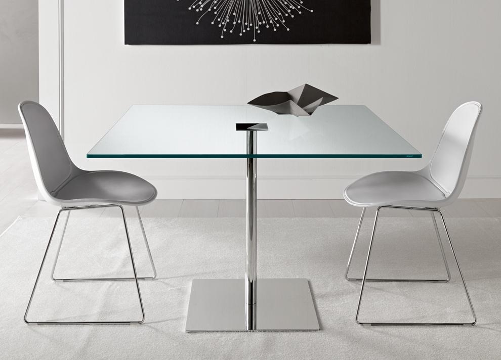 Square Glass Dining Tables – Insurserviceonline For Most Recent Perth Glass Dining Tables (Image 15 of 20)
