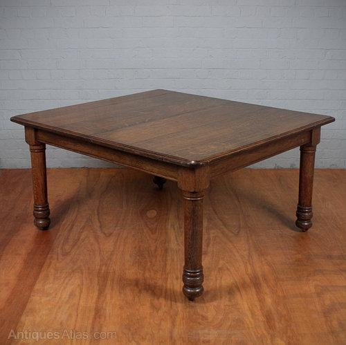 Square Oak Dining Table (View 14 of 20)
