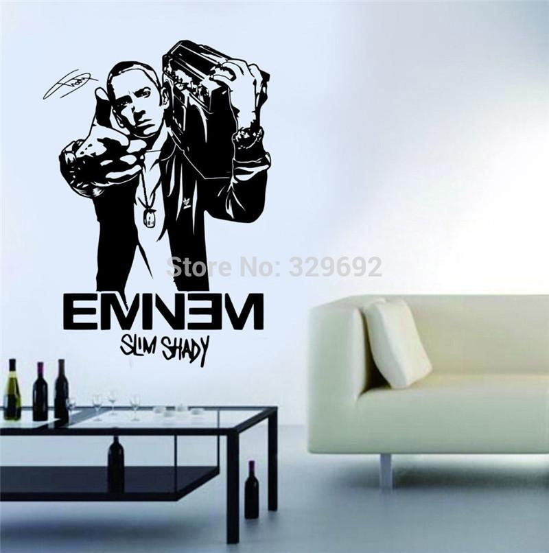 Stickers For Picture – More Detailed Picture About Fashion Design Within Eminem Wall Art (Image 15 of 20)
