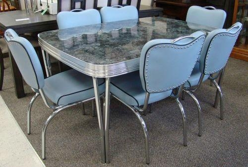 Still In Production After Nearly 70 Years: Acme Chrome Dinettes Pertaining To Newest Chrome Dining Sets (Image 18 of 20)