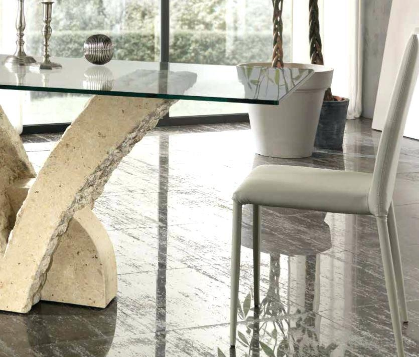 Stone Dining Table And Chairs – Mitventures (Image 13 of 20)
