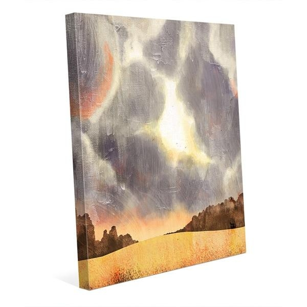 Stormy Skies Auburn' Canvas Wall Art – Free Shipping Today Inside Auburn Wall Art (Image 16 of 20)